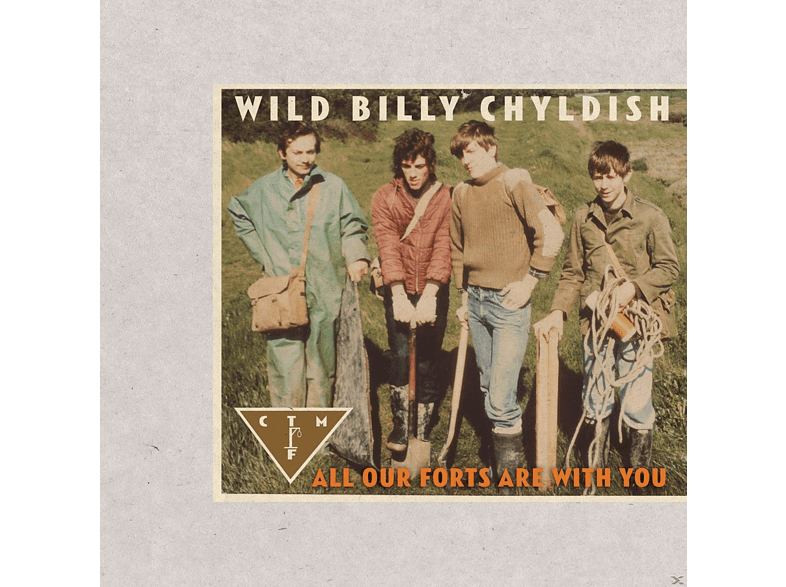 CTMF, Wild Billy Childish - All Our Forts Are With You [CD]
