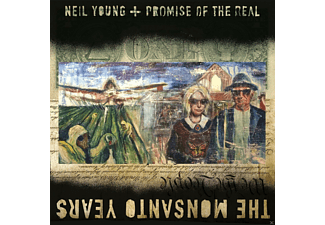 Neil Young + Promise Of The Real - The Monsanto Years - (CD + DVD Video)
