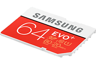 SAMSUNG EVO Plus, SDHC Speicherkarte, 64 GB, 80 Mbit/s