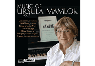 Ohlsson, Daedalus String Quartet, Arn - Music Of Ursula Mamlok, Vol. 1 - (CD)