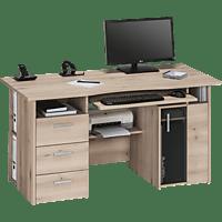 MAJA 4052 Computertisch, Schreib- und Computertisch, Edelbuche