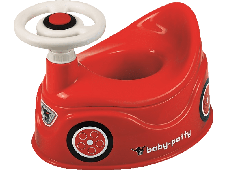 BIG 800056801 Baby Potty, Rot