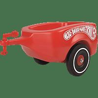 BIG 800001300 Bobbycar Trailer, Rot