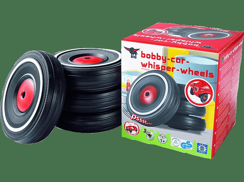 BIG 800001260 Bobbycar Whisper Wheels, Schwarz