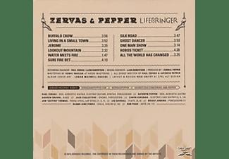 Zervas & Pepper - Lifebringer  - (CD)