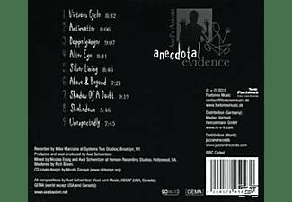Axel's Axiom - Anecdotal Evidence  - (CD)