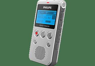 PHILIPS DVT1300 Diktiergerät, Silber / Schwarz