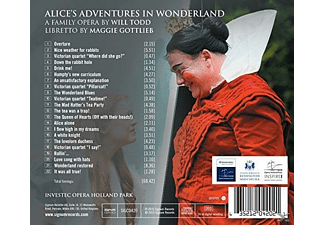 Opera Holland Park - Alice's Adventures In Wonderland  - (CD)
