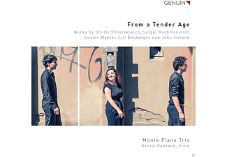 Daniel Rowland, Monte Piano Trio - From A Tender Age - (CD)