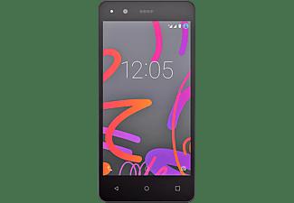 Móvil - BQ Aquaris M4.5 Negro de 16GB con 4G Dual SIM pantalla qHD de 4