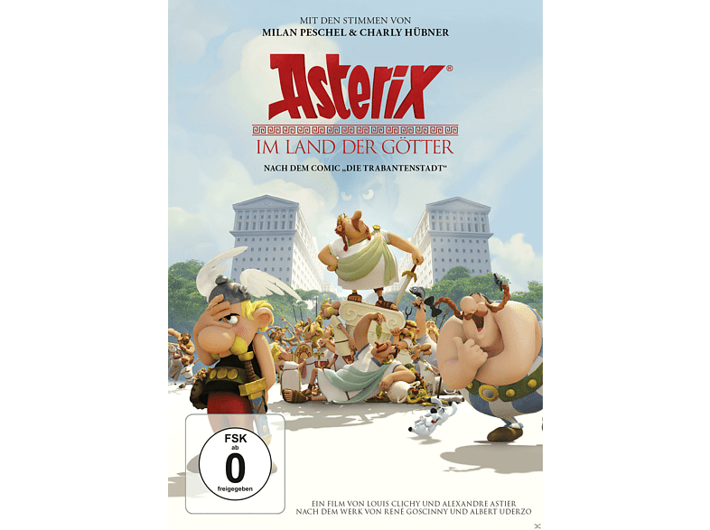 Asterix im Land der Götter [DVD]
