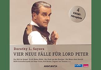 - Vier neue Fälle für Lord Peter  - (CD)