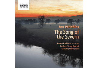 Roderick Williams, Carducci Quartet, Graham J. Lloyd - The Song Of The Severn - (CD)