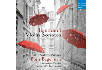 Boris Begelman - Violin Sonatas - (CD)