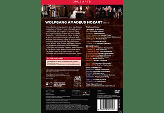 VARIOUS, Royal Opera Chorus, Orchestra Of The Royal Opera House - Mozart Operas  - (DVD)