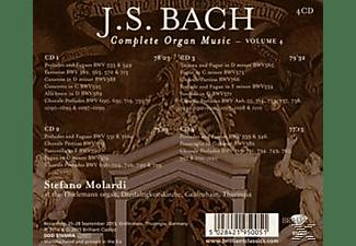 Stefano Molardi - Complete Organ Music Vol.4  - (CD)