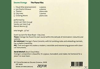 Douwe Eisenga - Piano Files  - (CD)