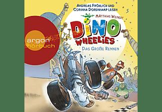 - Dino Wheelies: Das große Rennen  - (CD)