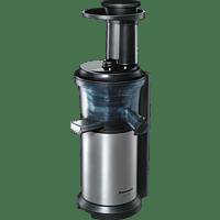 PANASONIC MJ-L 500 Slow Juicer 150 Watt, Edelstahl/Schwarz