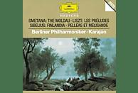 Carl August Nielsen, Herbert Von Bp/karajan - Die Moldau/Les Preludes/+ [CD]