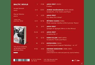Marcel & Ursula Sc Worms - BALTIC SOULS (DIGI)  - (CD)