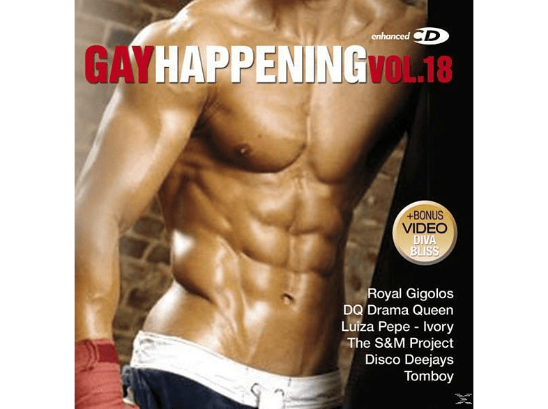 VARIOUS - Gay Happening Vol.18 [CD]