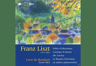 Franz Liszt - WORKS FOR FORTEPIANO  - (CD)