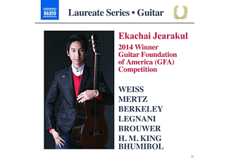 Jearakul Ekachai - Guitar Recital - (CD)