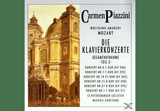 Piazzini Carmen - Die Klavierkonzerte (Teil 3)  - (CD)