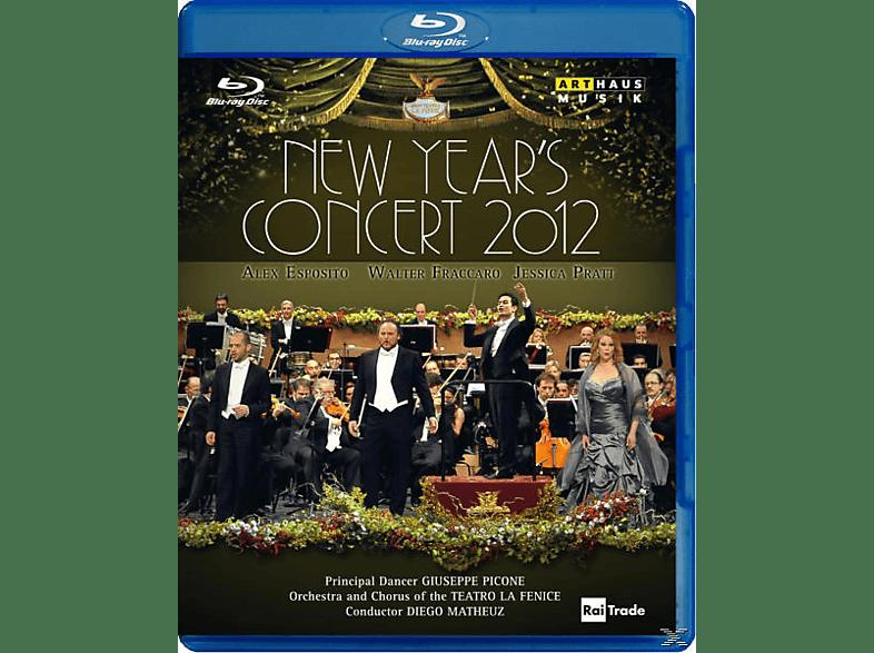Pratt/Fraccaro/Espos, Matheuz/Esposito/Fraccaro/Pratt - Neujahrskonzert 2012 [Blu-ray]