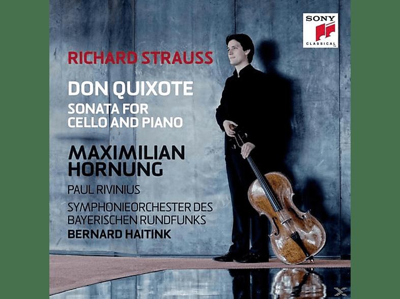 Hornung/Rivinius/Sym.Orchorchester Des BR/Jansons - Don Quixote & Cellosonate Op.6 [CD]