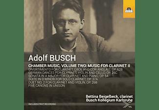 Bettina Beigelbeck, Busch Kollegium Karlsruhe - Kammermusik Für Klarinette Und Streicher Vol.2  - (CD)
