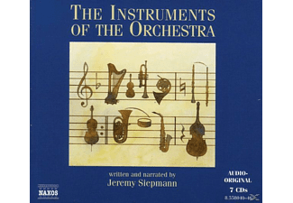 Jeremy Siepmann - The Instruments Of The Orchestra  - (CD)