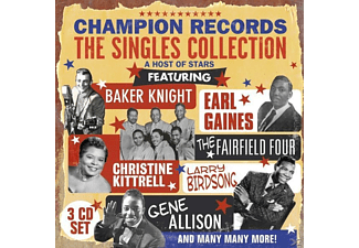 """VARIOUS - Champion Records """"The Single C  - (CD)"""