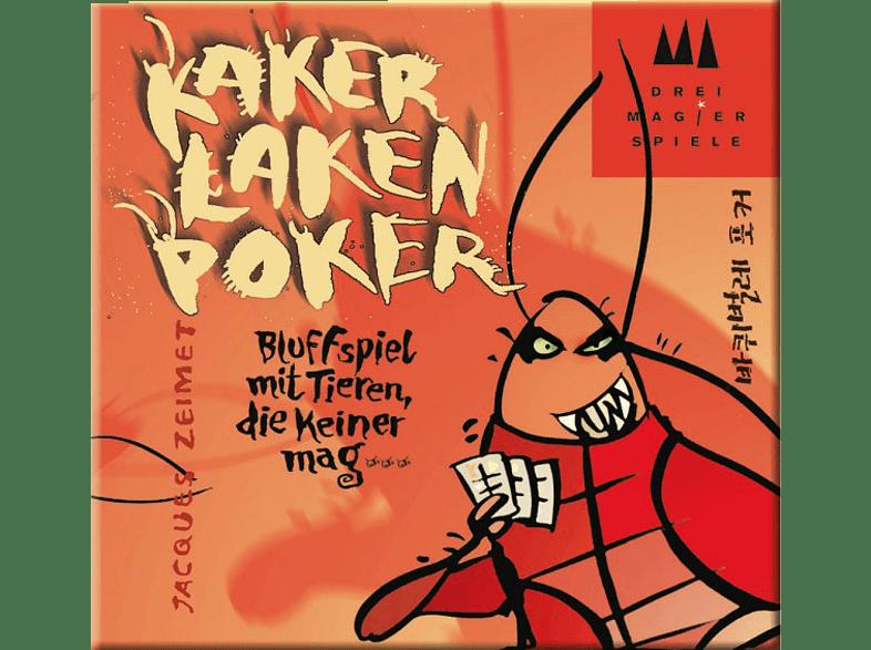 SCHMIDT SPIELE (UE) Drei Magier: Kakerlaken-Poker Kartenspiel