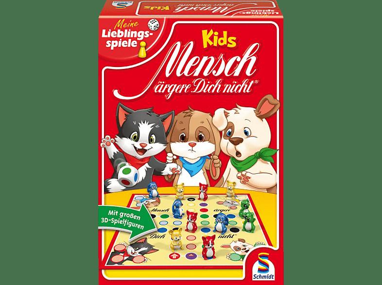 SCHMIDT SPIELE (UE) Mensch ärgere dich nicht - Kids (Mit 3D-Spielfiguren) Brettspiel