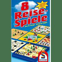 SCHMIDT SPIELE (UE) 8 Reise-Spiele Brettspiele