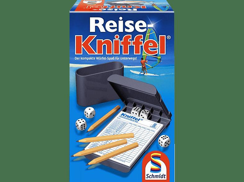 SCHMIDT SPIELE (UE) Reise Kniffel mit Zusatzblock Würfelspiel
