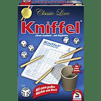 SCHMIDT SPIELE (UE) Classic Line Kniffel mit grossem Block Würfelspiel