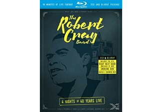 The Robert Cray Band - 4 Nights Of 40 Years Live (Blu-Ray+2cd)  - (Blu-ray + CD)