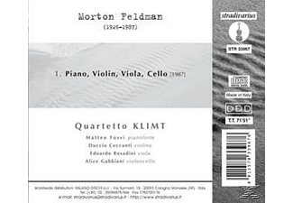 Quartetto Klimt - Piano, Violin, Viola, Cello  - (CD)