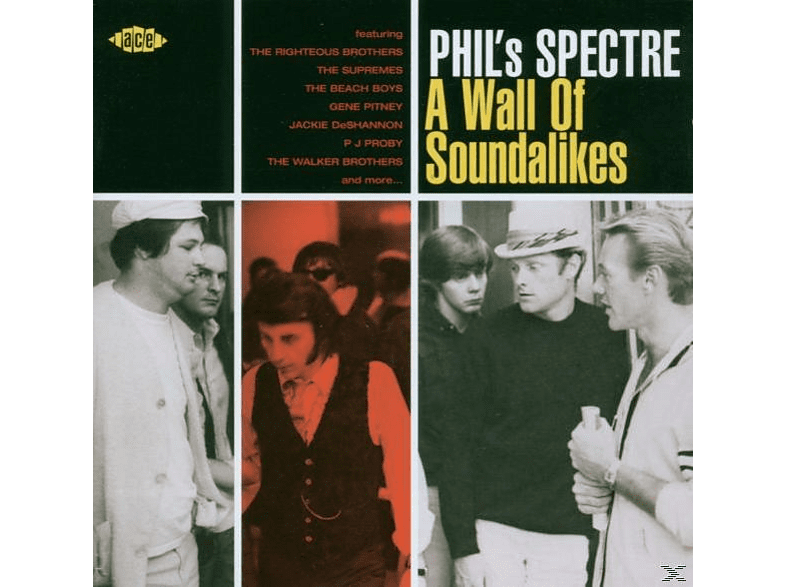 VARIOUS - Phil's Spectre-Wall Of Soundalikes [CD]