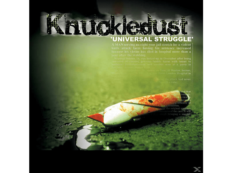 Knuckledust - UNIVERSAL STRUGGLE [CD]