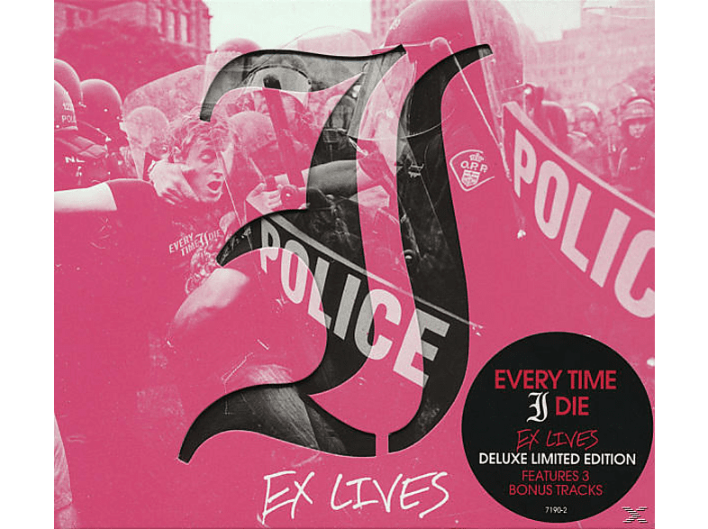 Every Time I Die - Ex Lives (Limited Edition) [CD]