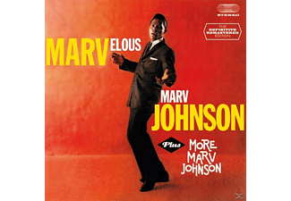 Marv Johnson - Marvelous Marv Johnson+More - (CD)