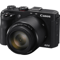 CANON PowerShot G3 X Digitalkamera Schwarz, 20.2 Megapixel, 25x opt. Zoom, TFT-LCD, WLAN