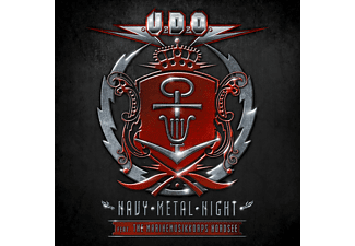 U.D.O. und das Marinemusikkorps Nordsee - Navy Metal Night (2cd+Dvd)  - (CD + DVD Video)