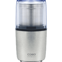 CASO 1830 Coffee Flavour Kaffeemühle Edelstahl (200 Watt, Edelstahl)