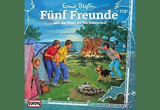 Fünf Freunde - 113/Und Das Feuer Auf Der Felseninsel  - (CD)