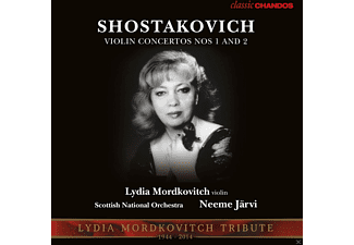 Lydia Mordkovitch - Violinkonzerte 1 & 2 - (5 Zoll Single CD (2-Track))